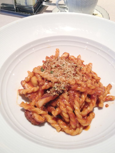 Octopus fusilli at Marea, NYC