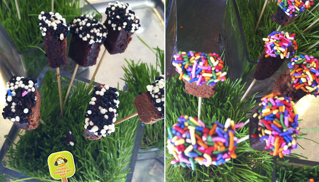 ft lauderdale - marriott harbor beach resort & spa - brownie pops