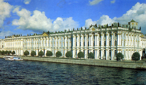 St. Petersburg - Winter Palace and Neva River (Postcard)