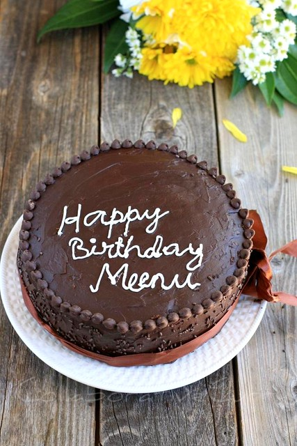 Cake With Name Meenu : Collaborative Curry: Chocolate Overdose Cake and 3rd ...