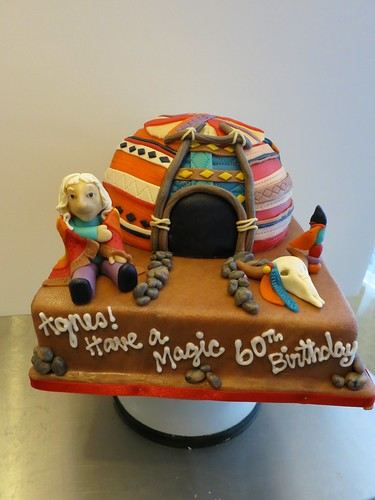 Native American Sweat Lodge Birthday Cake by CAKE Amsterdam - Cakes by ZOBOT