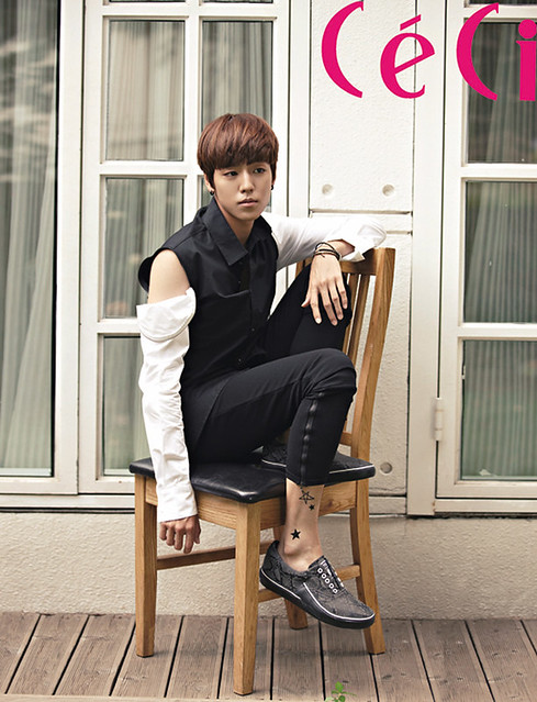 Lee Hyun Woo In September CéCi Magazine