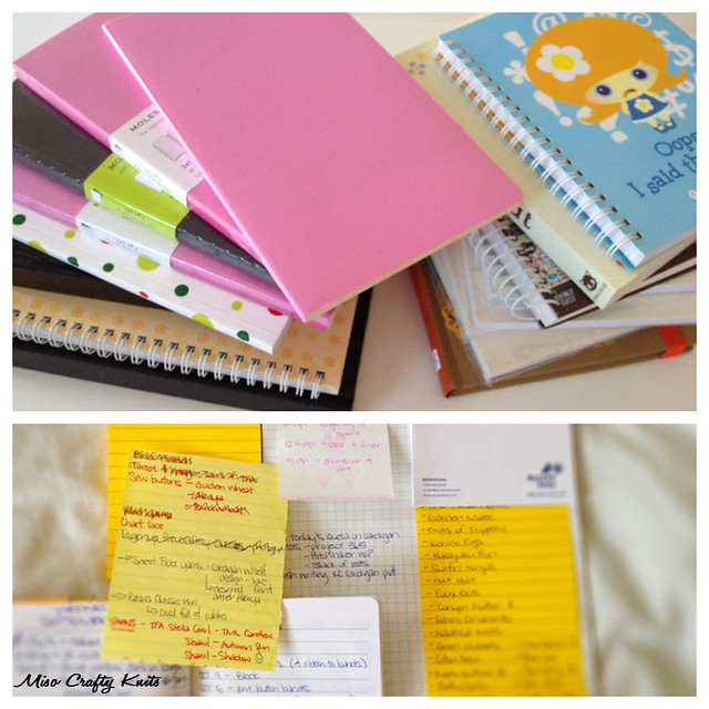 Notebooks & LIsts