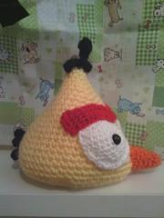Angry birds amarillo lado