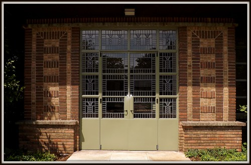 Doors and Surrounding Brickwork: Kingswood School