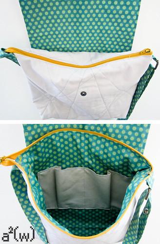 Music Midtown Bag zipper