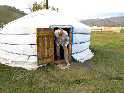 Our Ger Experience Steppes of Mongolia