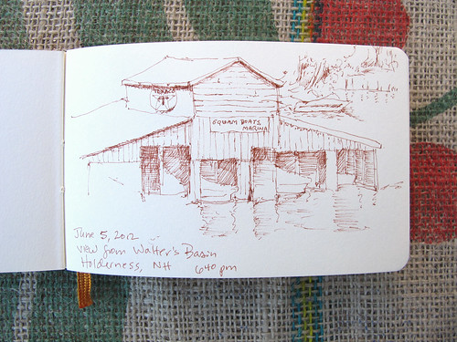 Squam Lake Sketch_1