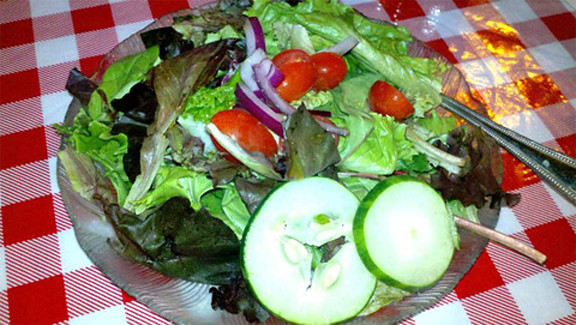 Mediterranean Feta Salad, Lobster Pot, Siesta Key, Sarasota, FL