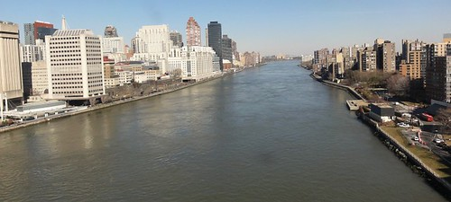 East River from the Roosevelt Island Tramway
