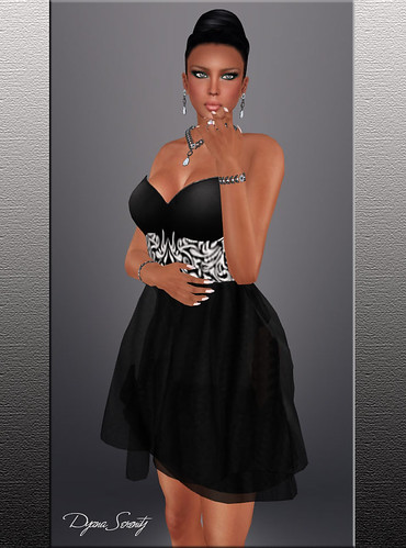 *Stars*Fashion* MESH Cocktail dress * Promo 99l$ by Dyana Serenity