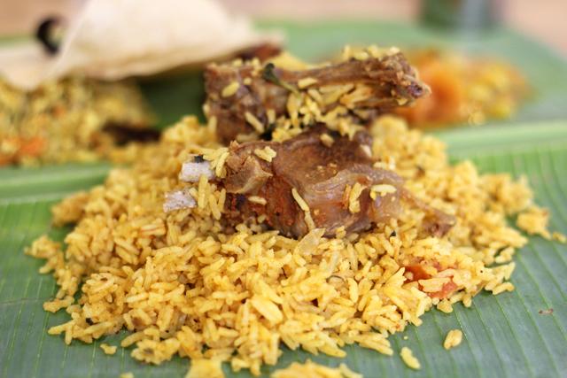 Mutton Biryani at Vishalatchi Food and Catering