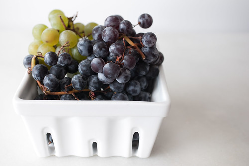 grapes from the market
