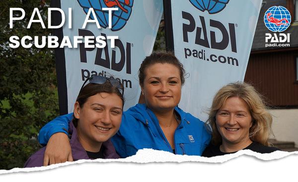 PADI at ScubaFest 2012
