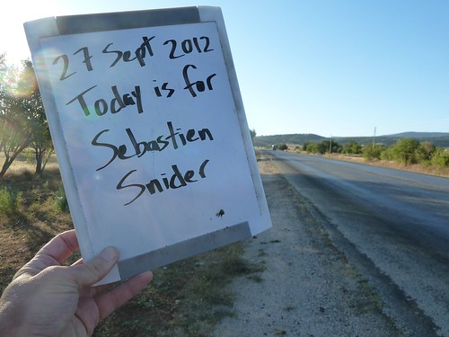 Today is for Sebastien Snider by mattkrause1969