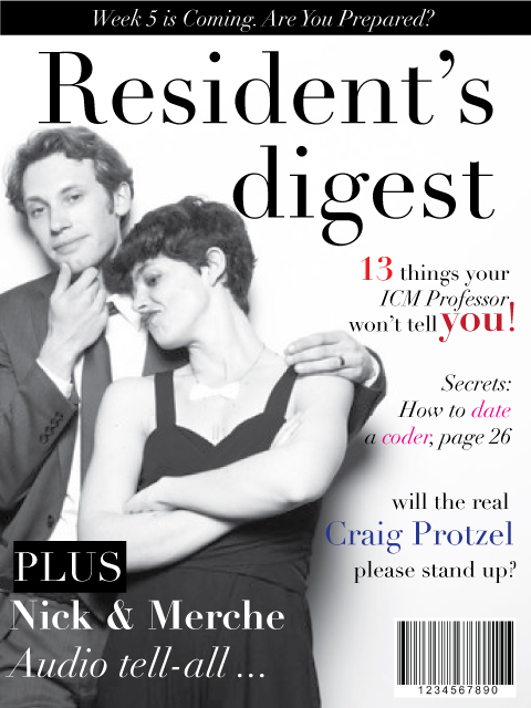 Resident's Digest Cover: Week 4