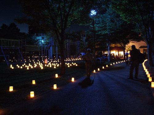 幻想的な秋の灯りのイベント『山の辺のあかり』@天理市