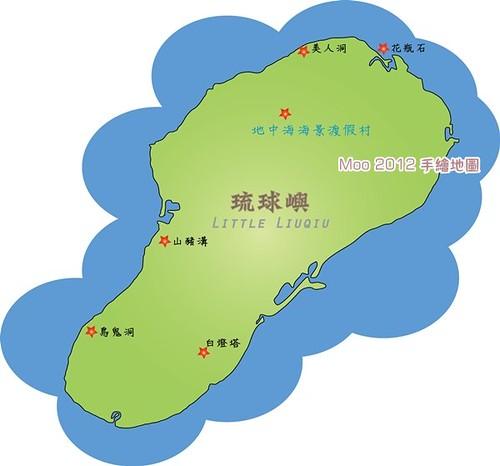 小琉球MAP