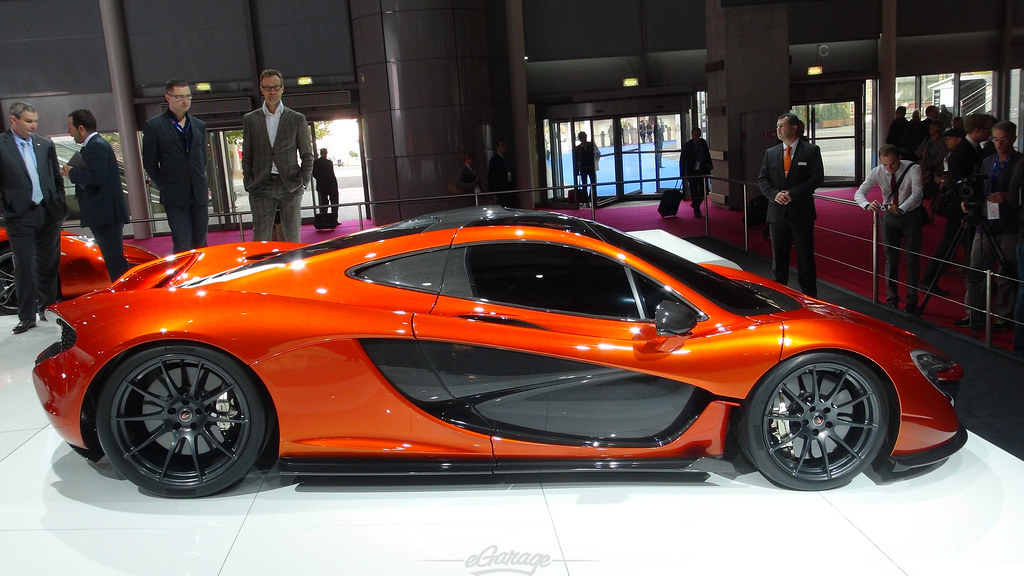 8034743477 4823a334e8 b eGarage Paris Motor Show McLaren P1 Profile