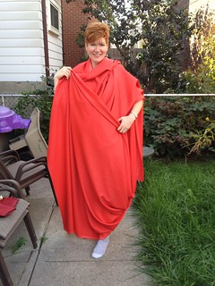 Modeling the fabric for the the Gertie's Butterick 5824 Sew-Along