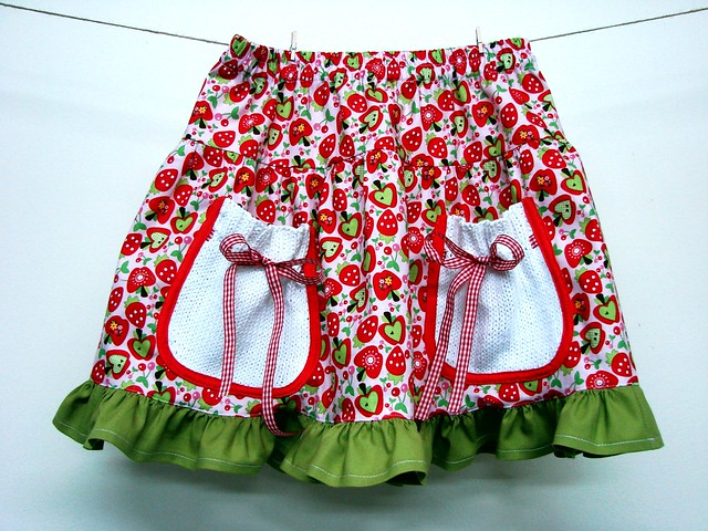 Berry Picking Skirt