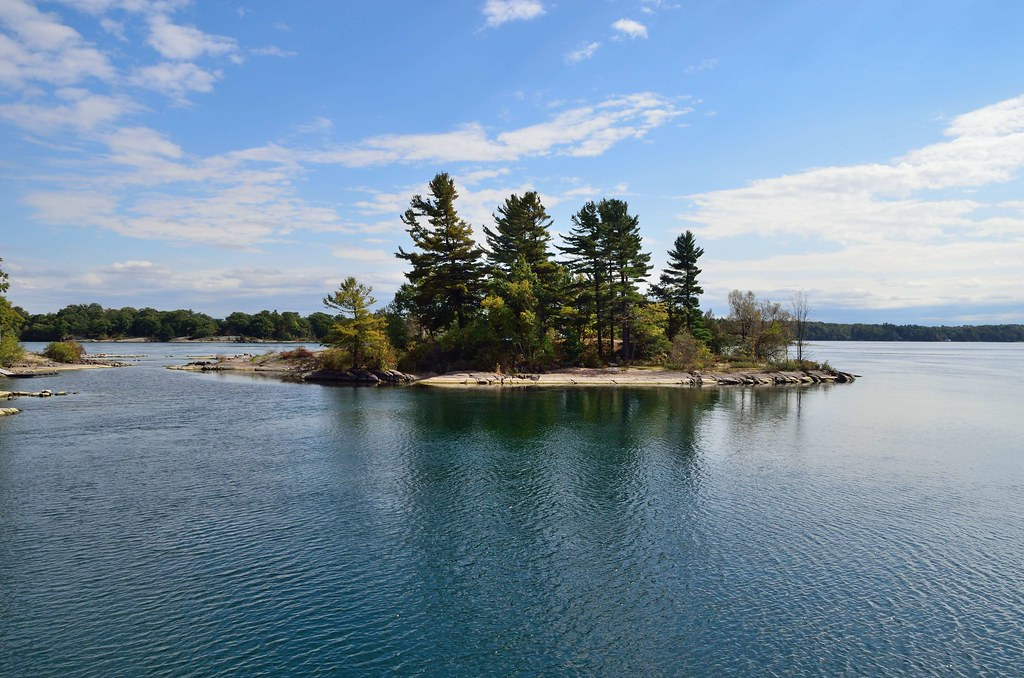 One (#1) of the 1000 Islands. Canada.