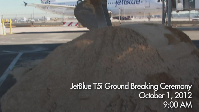 Ground Breaking for JetBlue's Terminal 5 Internation Expansion at JFK