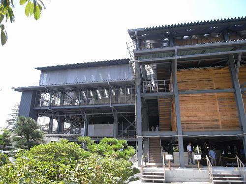 正倉院正倉整備工事現場公開(第2回)-05