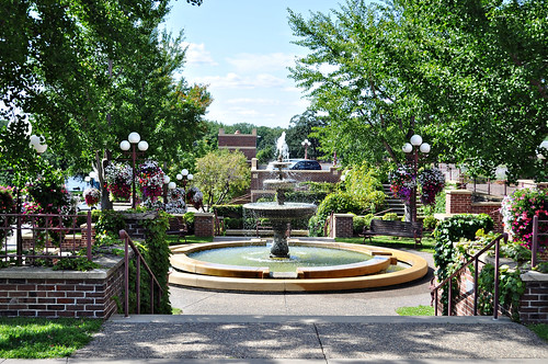 Fountain in Red Wing