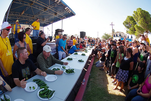Jalapeño Eating Competition & The Salsa Slurp Competition