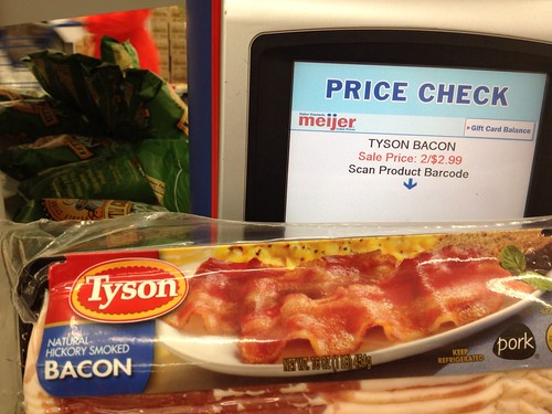 Tyson 16 Oz Bacon 1 49 At Meijer No Coupons The Shopper S Apprentice