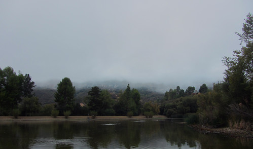 marine layer rolls in