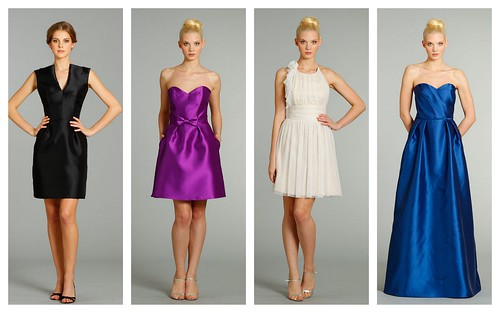 {Modern} Bridesmaid's Style by Alvina Valenta by Nina Renee Designs