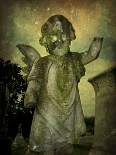 """Look, Ma!  No Hands!"":  Old Cherry Hill Cemetery, Greenville, North Carolina"