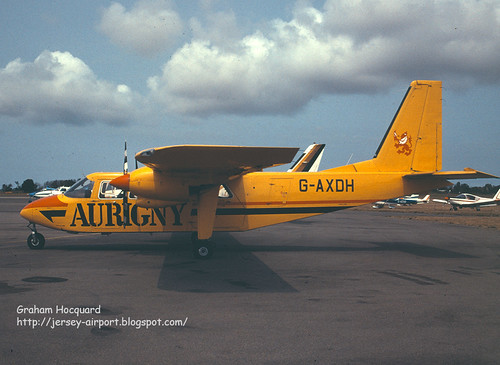 G-AXDH Britten-Norman BN-2A Islander by Jersey Airport Photography