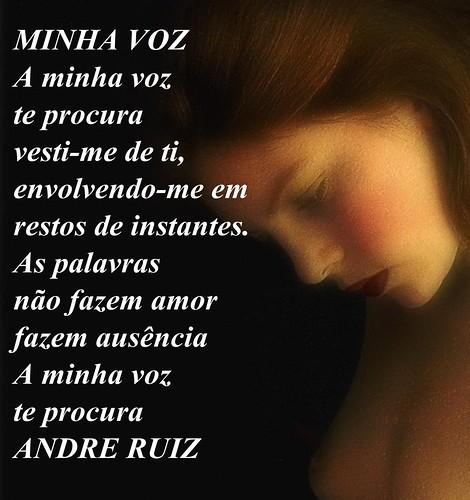 MINHA VOZ by amigos do poeta