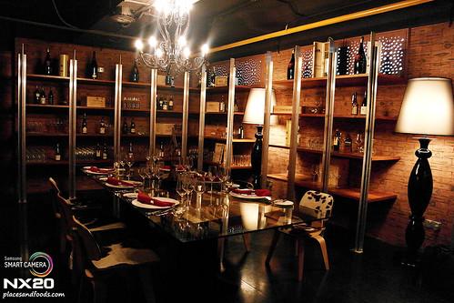 grill 582 VIP room