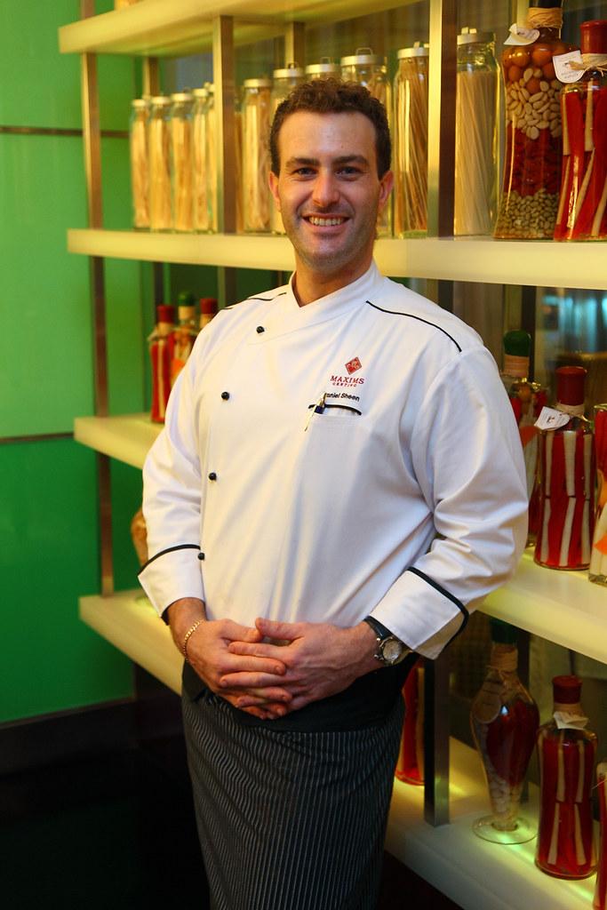 Chef Daniel Sheens