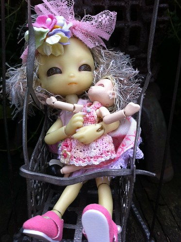 TANKs Ya HugeMosT DandelionFair For Make'nZ Me PreciousMosT Mini TiGGs BDay Dolly! by DollZWize