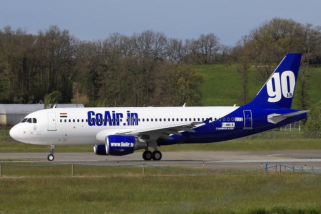 GO AIR F-WWIK msn 5112 IMMAT VT-GOJ