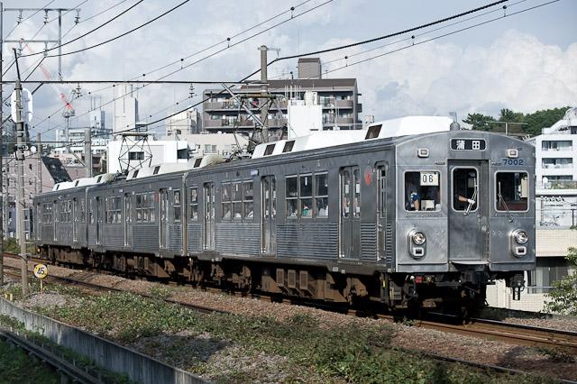 東急電鉄池上線 開業90周年特別仕様車 7700系クラシックスタイル