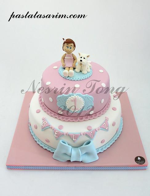 1st BIRTHDAY CAKE - BELIZ