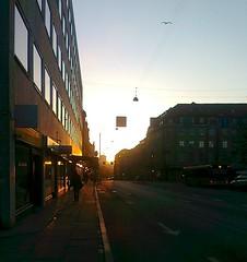 Urban sunrise