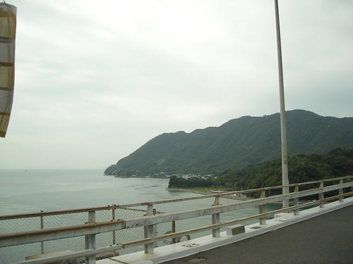 大三島橋から