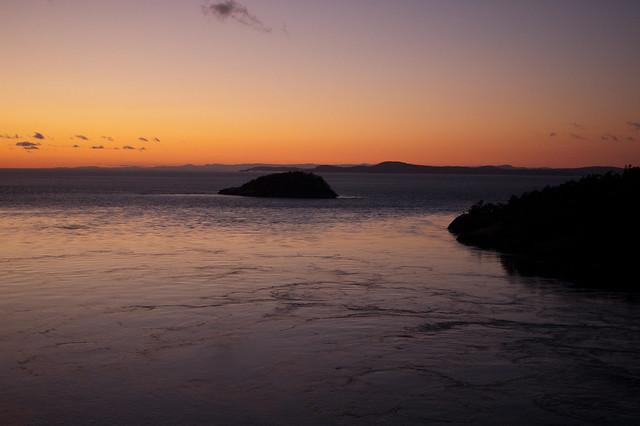 Deception Pass sunset