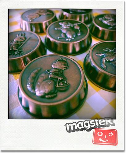 Hallmark社のどうぶつ柄銅モールドマグネット