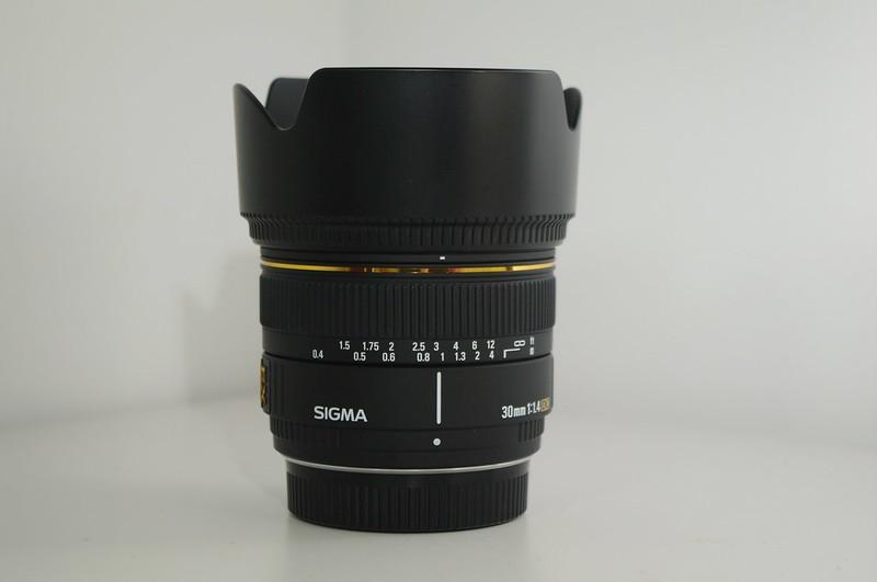 Sigma 30mm/1.4EX DC開箱試拍
