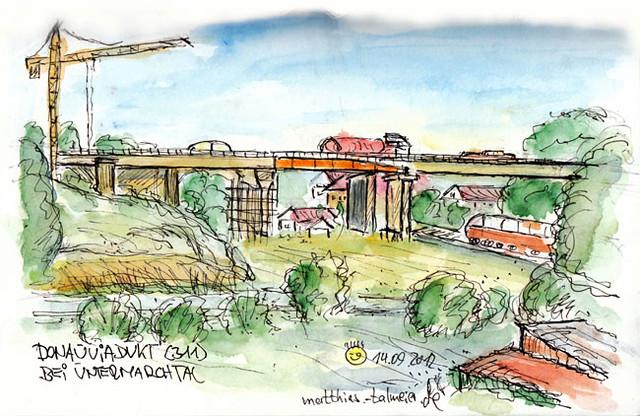Neubau Donauviadukt-Untermarchtal
