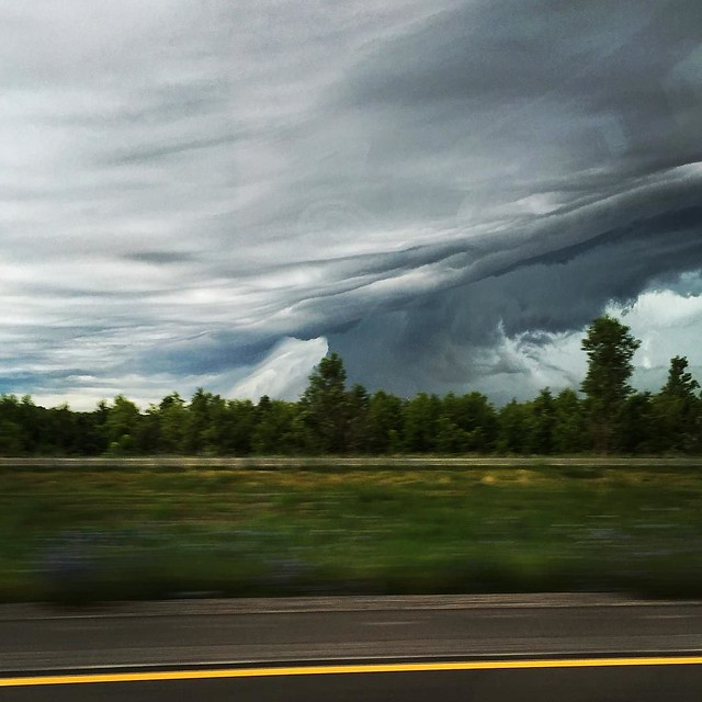 #latergram from a road trip a few weeks ago, just before the storm let loose. 2 of 2.