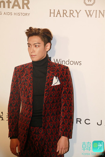 TOP - amfAR Charity Event - Red Carpet - 14mar2015 - Korea Star Daily - 04